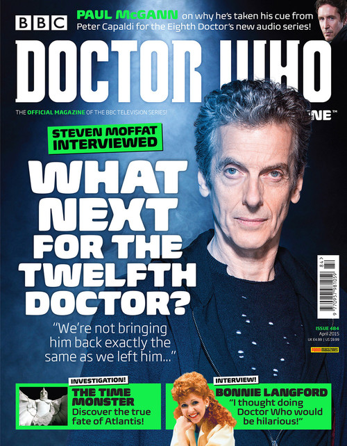 Doctor Who Magazine #484 - Steven Moffat Interviewed