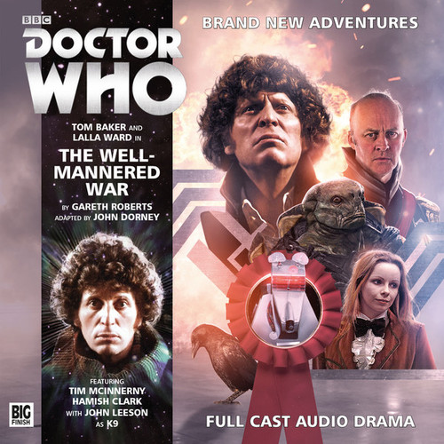 Big Finish Novel Adaptation: The Well-Mannered War - Audio CD #5