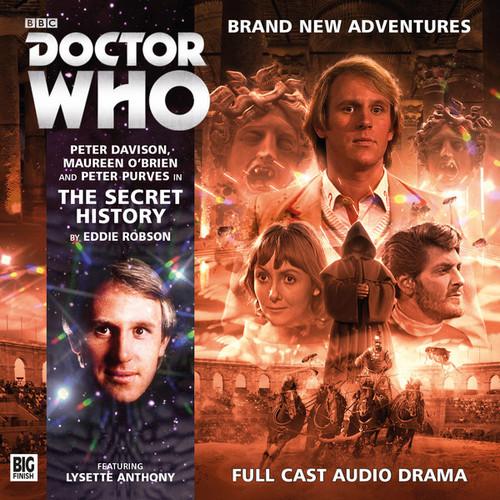 The Secret History Audio CD - Big Finish #200