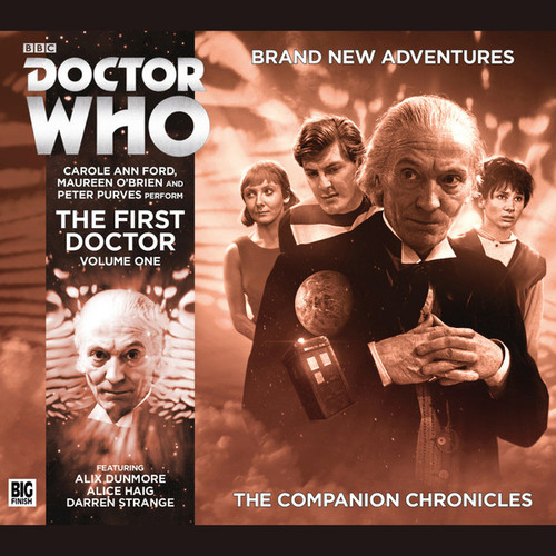 Companion Chronicles - Volume One First Doctor - Big Finish Audio CD