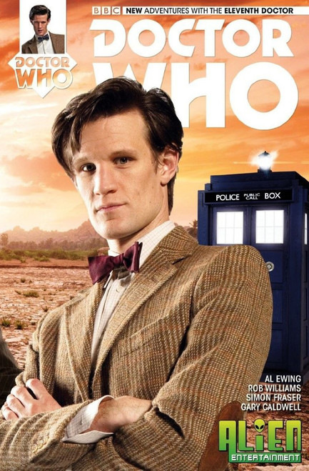 11th Doctor Titan Comics #1 (Alien Entertainment Exclusive)