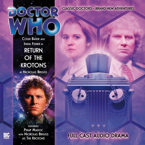 VII RETURN OF THE KROTONS - Subscriber Special Big Finish Audio CD