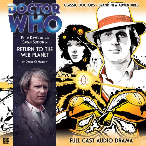RETURN TO THE WEB PLANET - Special Big Finish Audio CD #VI