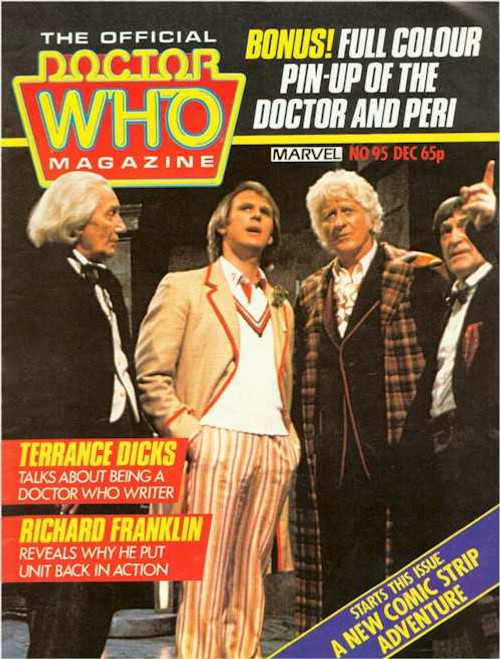 Doctor Who Magazine #95