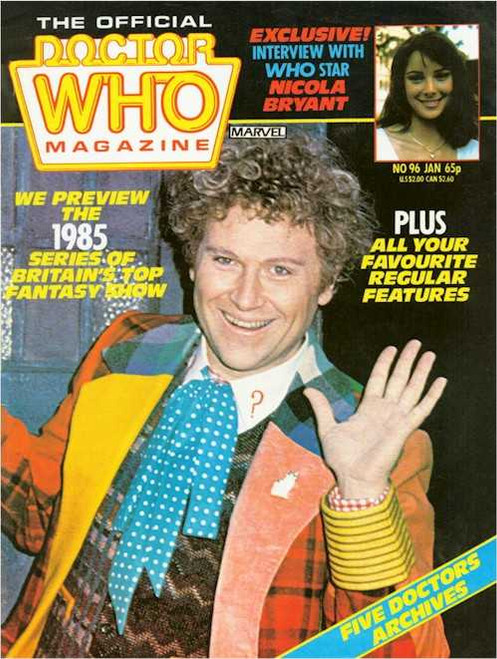 Doctor Who Magazine #96