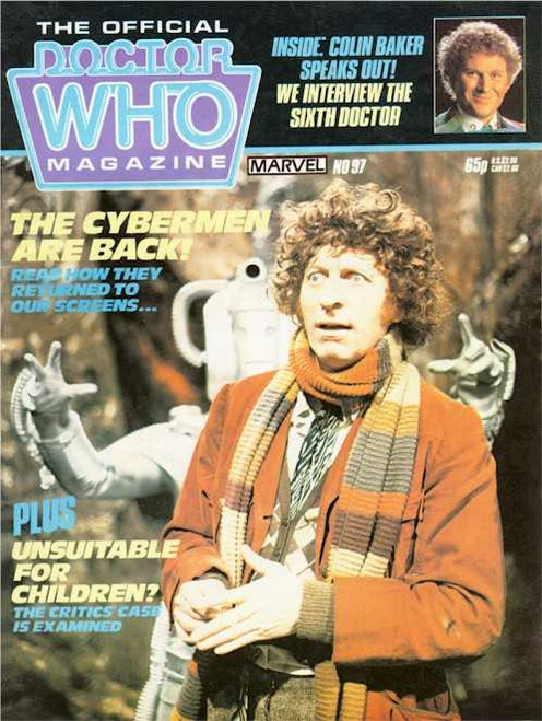Doctor Who Magazine #97