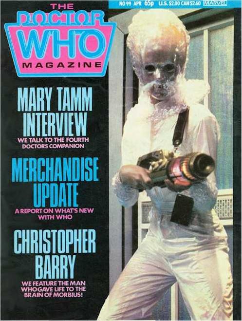 Doctor Who Magazine #99