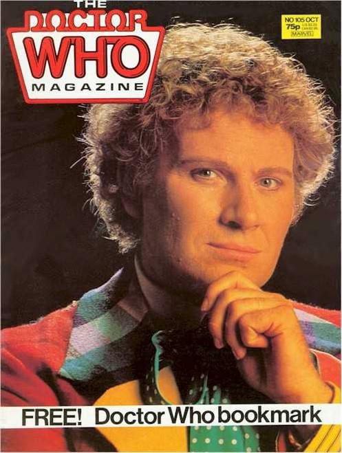Doctor Who Magazine #105
