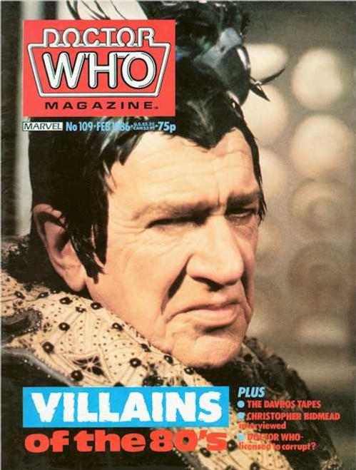 Doctor Who Magazine #109