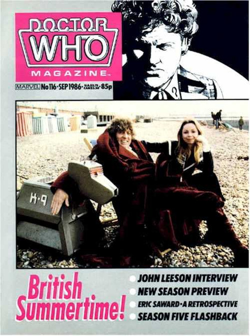 Doctor Who Magazine #116