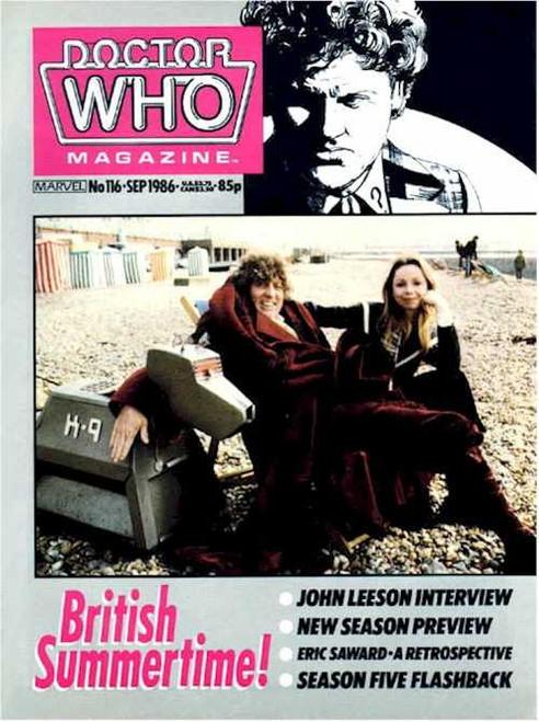 Doctor Who Magazine #116