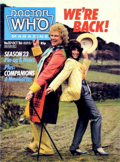 Doctor Who Magazine #117