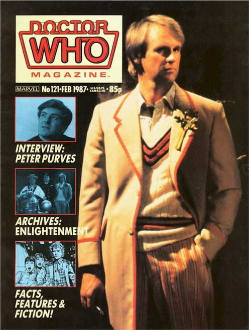 Doctor Who Magazine #121
