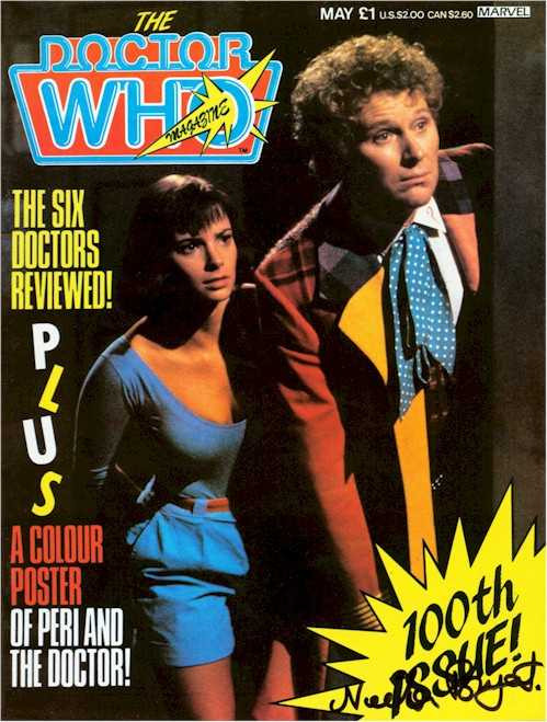 Doctor Who Magazine #100
