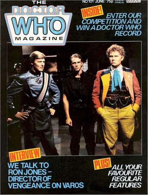 Doctor Who Magazine #101