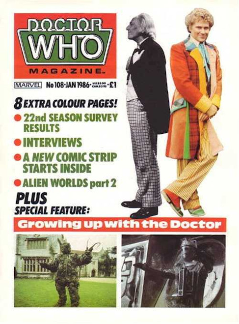 Copy of Doctor Who Magazine #108