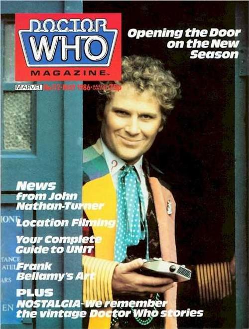 Doctor Who Magazine #112