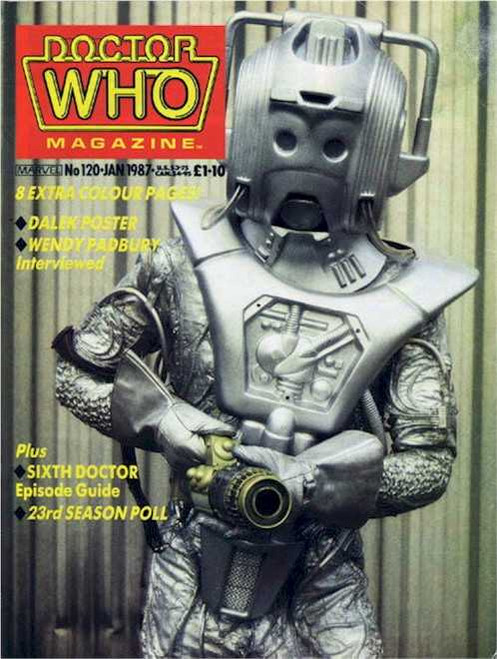Doctor Who Magazine #120