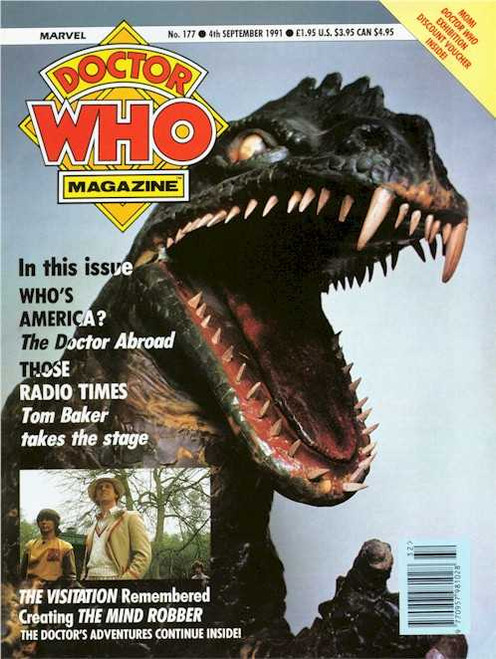Doctor Who Magazine #177