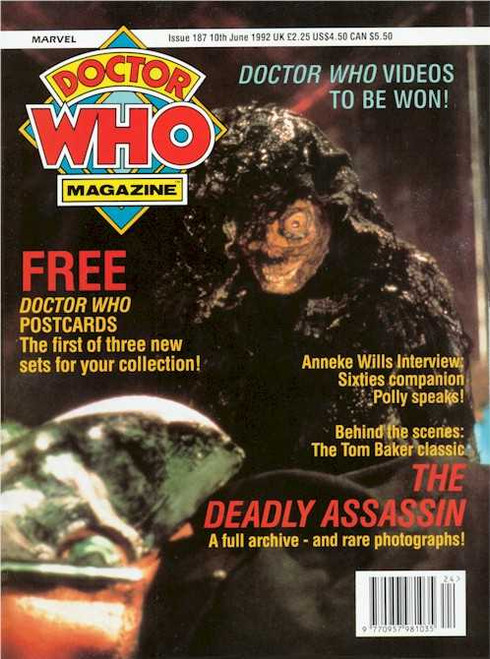 Doctor Who Magazine #187
