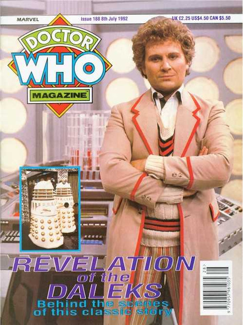 Doctor Who Magazine #188