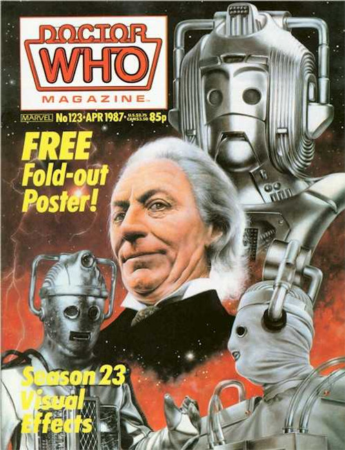Doctor Who Magazine #123