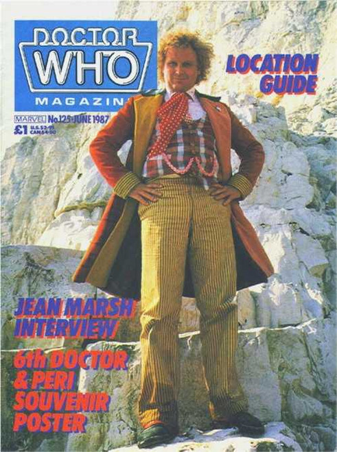 Doctor Who Magazine #125