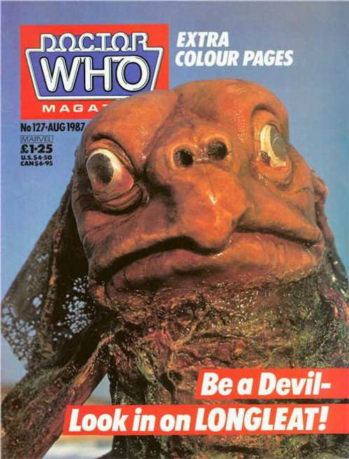 Doctor Who Magazine #127