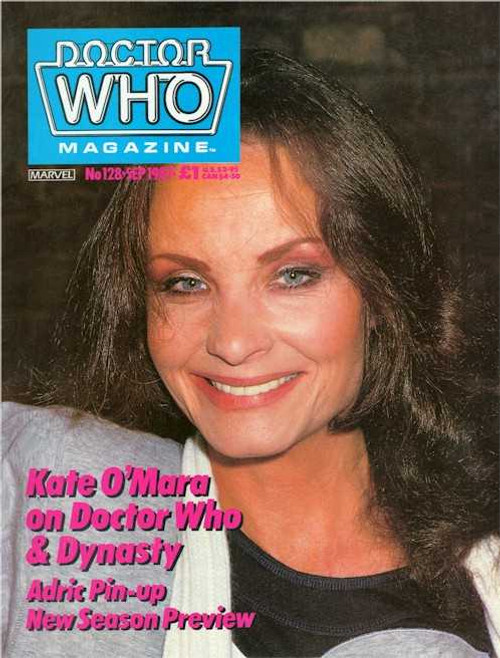 Doctor Who Magazine #128