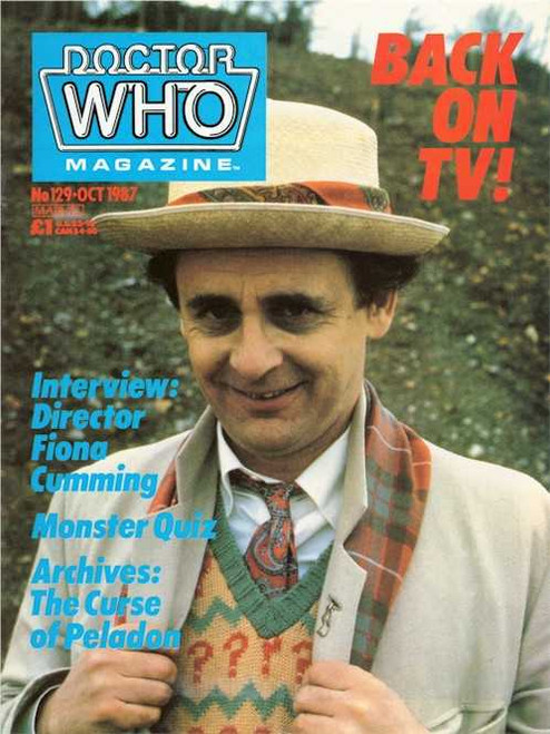 Doctor Who Magazine #129