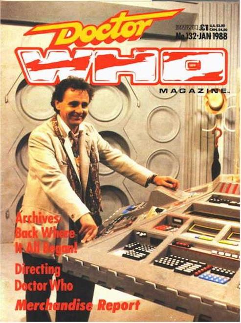 Doctor Who Magazine #132