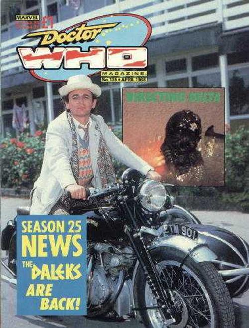 Doctor Who Magazine #135