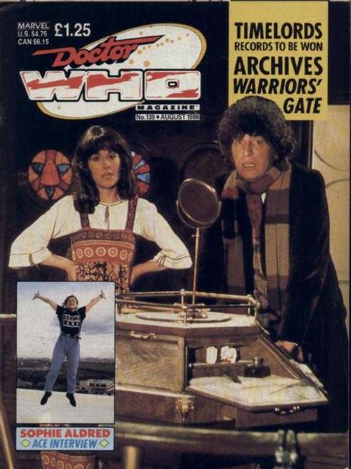 Doctor Who Magazine #139