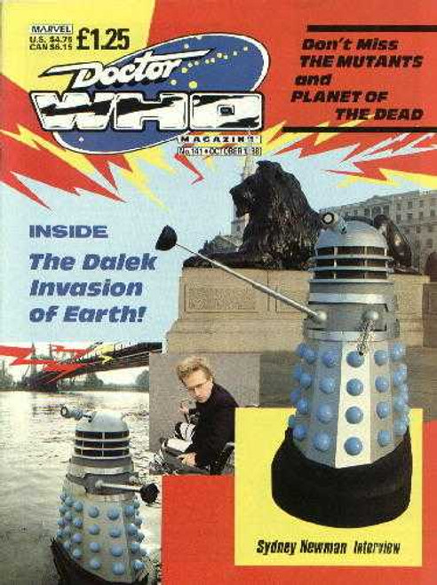 Doctor Who Magazine #141