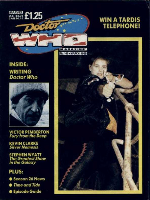 Doctor Who Magazine #146