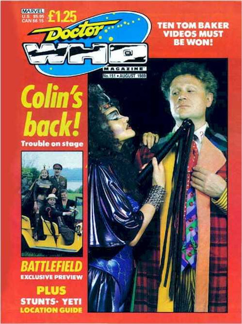 Doctor Who Magazine #151