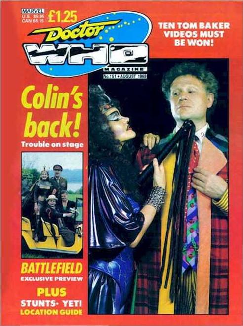 Doctor Who Magazine #151