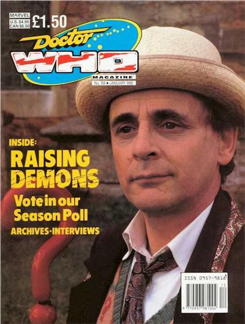 Doctor Who Magazine #156