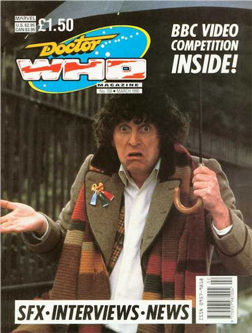 Doctor Who Magazine #158