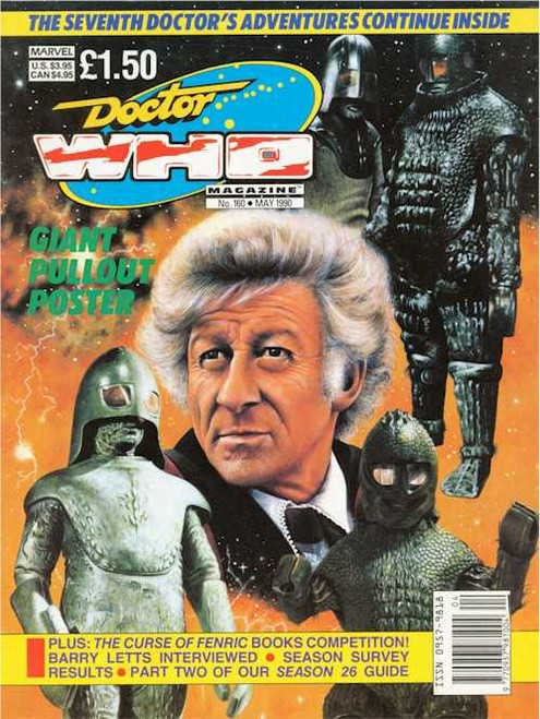 Doctor Who Magazine #160