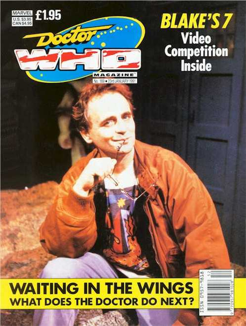 Doctor Who Magazine #169