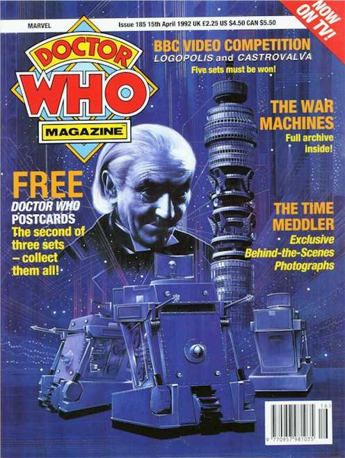 Doctor Who Magazine #185