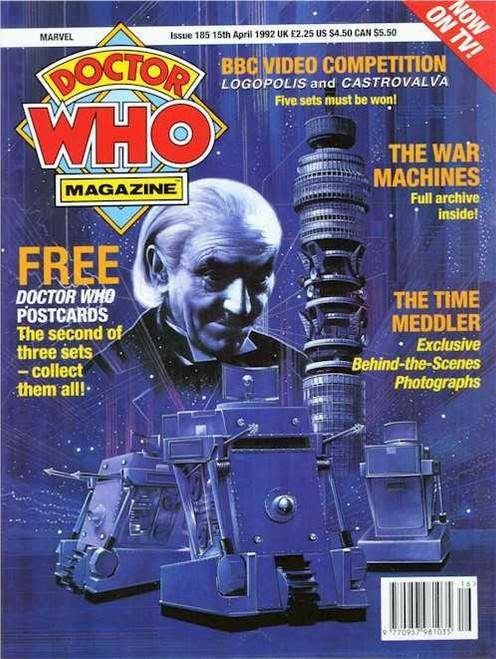 Doctor Who Magazine #185