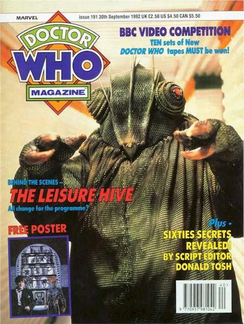 Doctor Who Magazine #191