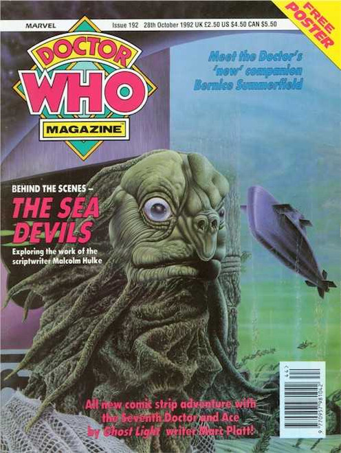 Doctor Who Magazine #192