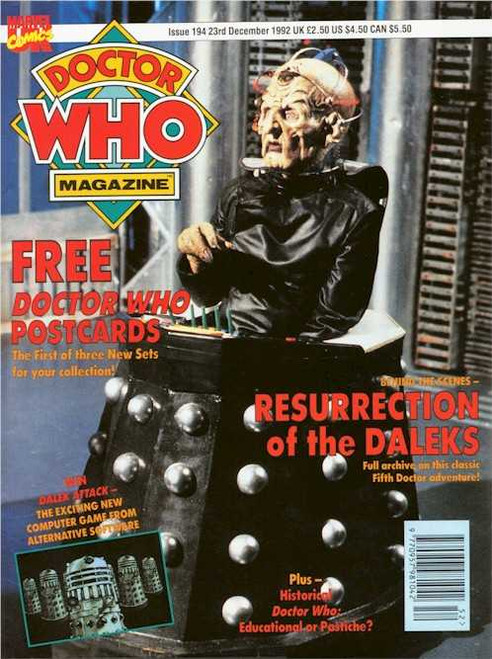 Doctor Who Magazine #194