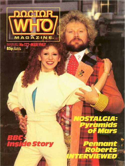 Doctor Who Magazine #122
