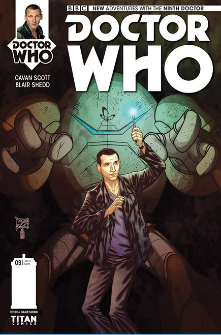9th Doctor Titan Comics #3