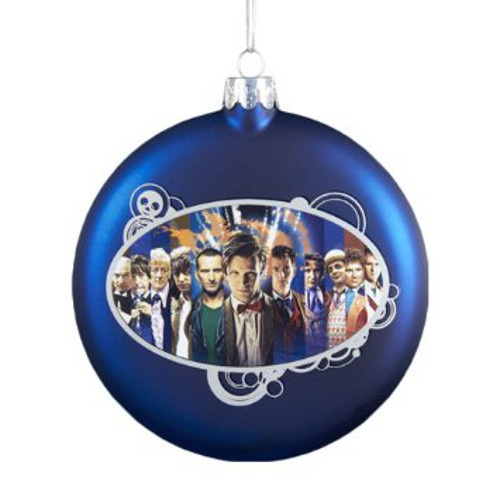 50th Anniversary Limited Edition Christmas Glass Ornament