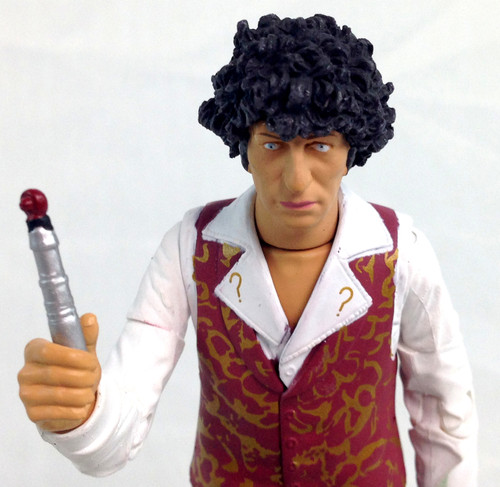 Action Figure - 4th DOCTOR (No Jacket with sonic and Manipulator Spere) - Unpackaged
